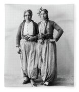 Palestine Gypsies, 1893 Fleece Blanket