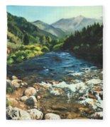 Palisades Creek  Fleece Blanket