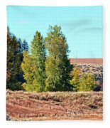 Palisades Idaho Fleece Blanket
