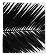 Palm Frond Fleece Blanket