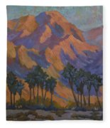 Palm Oasis At La Quinta Cove Fleece Blanket
