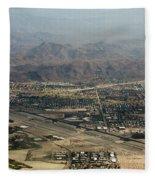 Palm Springs International Airport Fleece Blanket