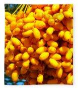 Palm Tree Fruit 2 Fleece Blanket