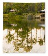 Palmetto Bluff South Carolina Fleece Blanket