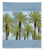 Palms Fleece Blanket