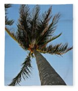 Palms Over My Head Fleece Blanket
