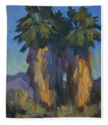 Palms With Skirts Fleece Blanket