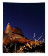 Palo Duro Canyon 2am-114844 Fleece Blanket