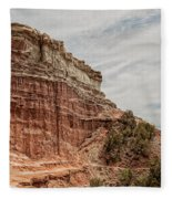 Palo Duro Canyon Fleece Blanket