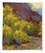 Palo Verde Trees Fleece Blanket