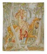 Palomino Princess Fleece Blanket