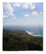 Palos Verdes Peninsula Fleece Blanket