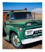 Palouse Gmc Truck Fleece Blanket