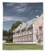 Palsjo Slott In Helsingborg Evening Fleece Blanket
