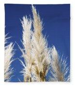 Pampas Grass Fleece Blanket