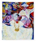 Panama Carnival. Fiesta Fleece Blanket