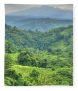Panama Landscape Fleece Blanket