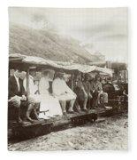 Panama Roosevelt, 1906 Fleece Blanket