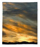 Panamint Sunset Fleece Blanket