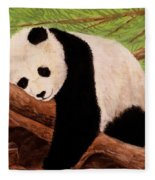 Panda Fleece Blanket