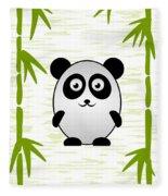 Panda - Animals - Art For Kids Fleece Blanket