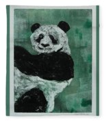 Panda - Monium Fleece Blanket