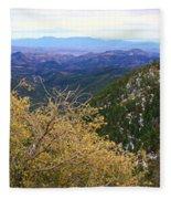 Panorama Emory Pass Vista Nm Fleece Blanket