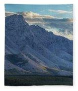 Panoramic Image Of Royal Mountain Fleece Blanket