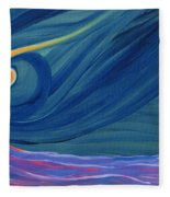 Panspermia 2 Fleece Blanket