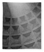 Pantheon Ceiling Fleece Blanket