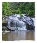 Panther Creek Falls Fleece Blanket