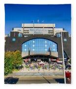 Panthers Stadium Fleece Blanket