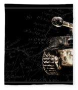 Panzer Tiger I Front Bk Bg Fleece Blanket