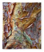 Paperbark Abstract Fleece Blanket