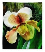 Paph Hellas Westonbirt Orchid Fleece Blanket