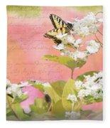Papillon Fleece Blanket