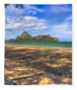 Paradise Beach Fleece Blanket