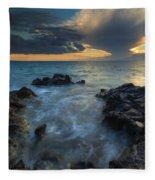 Paradise Cloud Explosion Fleece Blanket