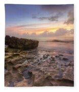 Paradise On Jupiter Fleece Blanket