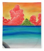 Paradise Panorama Fleece Blanket