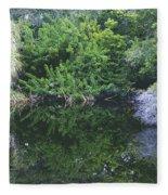Paradise Pond Fleece Blanket