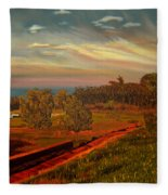 Paradise Road Fleece Blanket