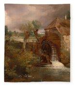 Parham Mill Fleece Blanket