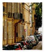Paris Afternoon Fleece Blanket
