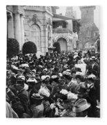 Paris Exposition, 1900 Fleece Blanket