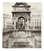 Paris Fountain, C1858 Fleece Blanket