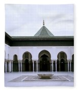 The Paris Mosque Fleece Blanket