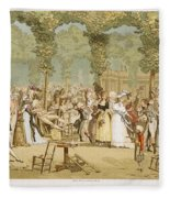 Paris Palais Royal, C1780 Fleece Blanket