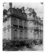 Paris Private Home, 1872 Fleece Blanket