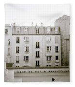 Solitude In Paris Fleece Blanket